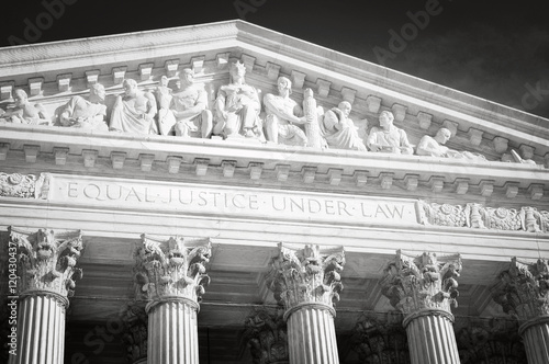 Fotomural Supreme Court of the United States of America