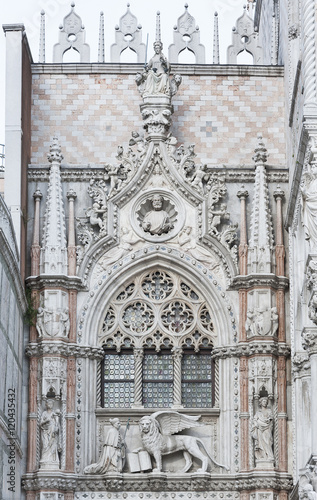 Foto op Canvas Milan Details of St Mark's Basilica in Venice, Italy