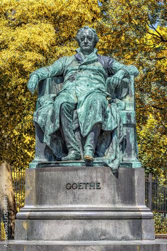 Fotografie, Obraz  Statue of Johann Wolfgang von Goethe in Vienna, Austria.