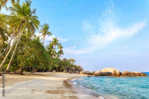 Asian tropical beach paradise Wallpaper Mural
