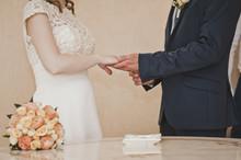 The Exchange Of Wedding Rings 6669.