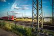 Zug und Gleise