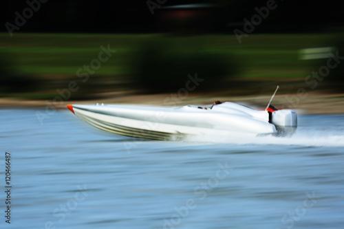 Fotografie, Obraz  speedboat