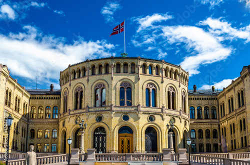 The Storting, Norwegian parliament in Oslo