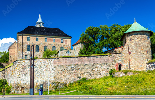 Photo  Akershus Fortress in Oslo, Norway