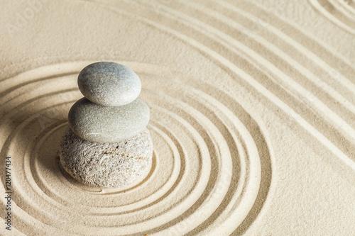 Zen stone garden Poster