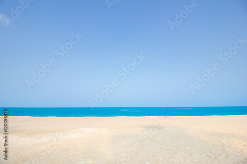 Poster Tropical plage sand on the beach