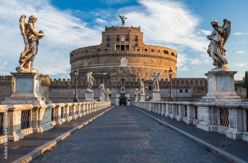 Castel Sant'Angelo, Rome, Italy Canvas Print