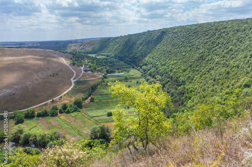 Spoed Foto op Canvas Oost Europa beautiful Moldova landscape