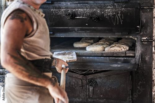 Fotografie, Obraz  panadero, pan