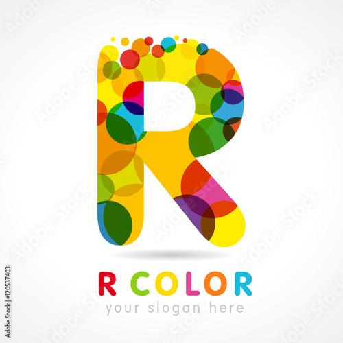 Colored R logo  Letter