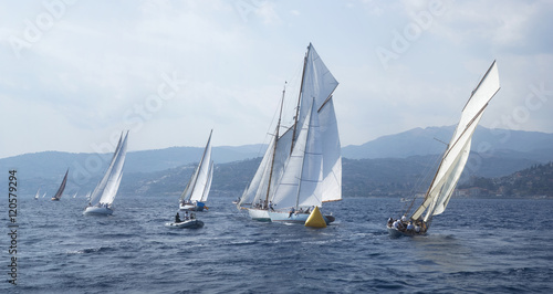 Cadres-photo bureau Voile Classic yacht regatta