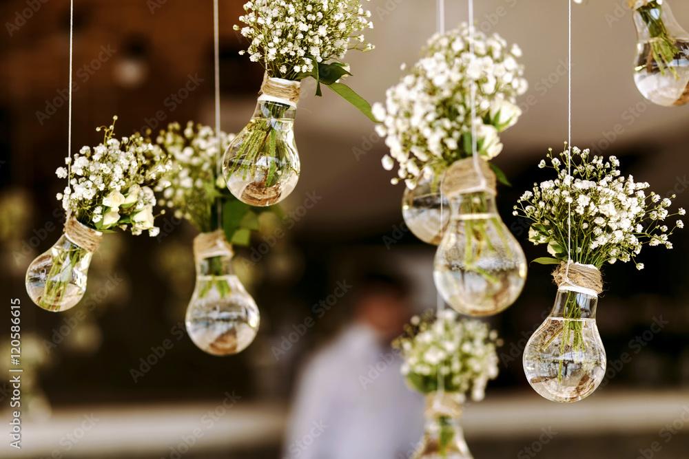 Fototapety, obrazy: wedding floral decoration