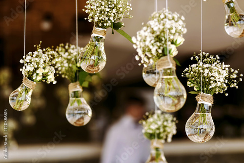 Photo  wedding floral decoration