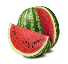 Watermelon Cut Slice Isolated ...