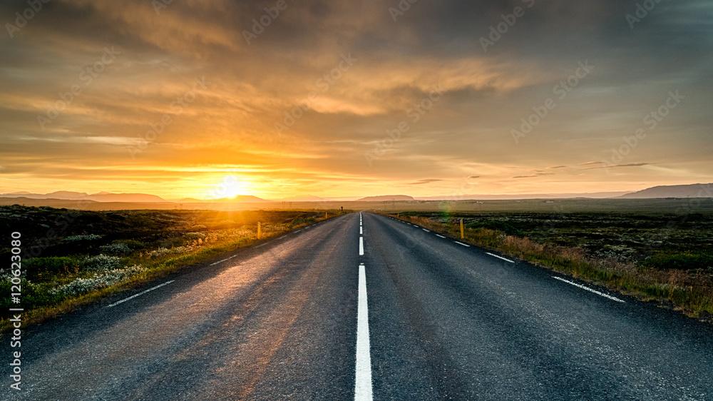 Fototapety, obrazy: Highway to nowhere