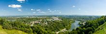 Panorama Of Morgantown And WVU...