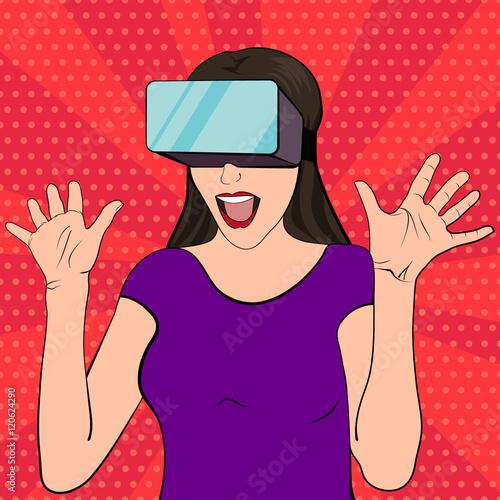 kobieta-nosi-okulary-wirtualnej-rzeczywistosci-ilustracja-wektorowa-podekscytowana-i-zaskoczona-kobieta-w-stylu-retro-pop-artu-dziewczyna-pop-artu-z-otwartymi-ustami
