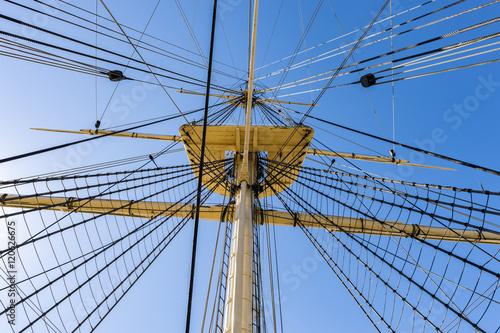Tall ship rigging © Ruddi
