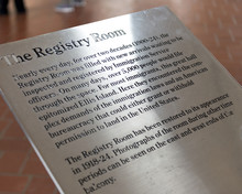 The Registry Room On Ellis Island, Jersey City, New York