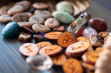 Magic Runes With Their Hands