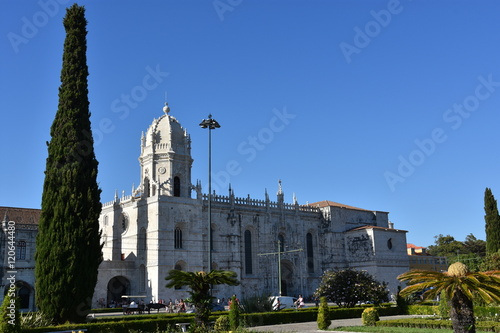 Keuken foto achterwand Buenos Aires Jeronimos Monastery at Belem in Lisbon, Portugal