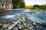 Fototapeta Kamienie - Górska rzeka
