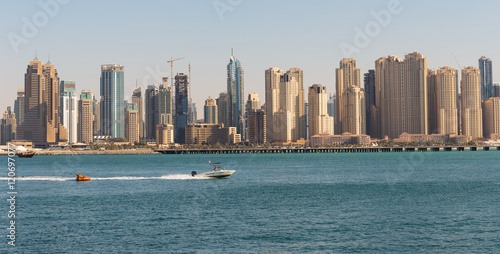 Photo  General view of the Dubai Marina UAE