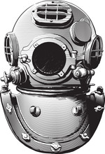 Detail Of An Old Diving Suit H...