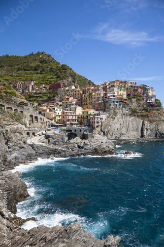 Manarola, Cinque Terre, Riviera di Levante, Liguria, Italy