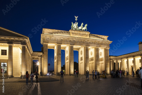 Brandenburg Gate, Pariser Platz, Berlin, Germany Poster