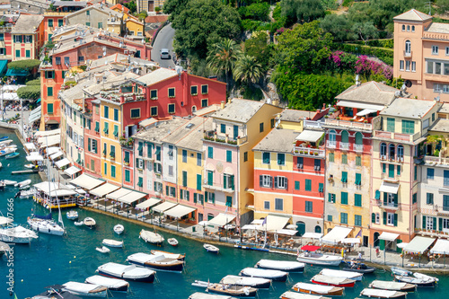 Fototapety, obrazy: Portofino. The resort town in Liguria.