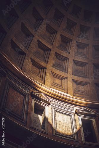 Foto op Aluminium Rome Interior of Rome Agrippa Pantheon, Italy
