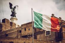 Rome - Castle Saint Angelo, Italy