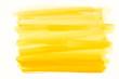 Leinwandbild Motiv yellow watercolor texture painted on white paper background