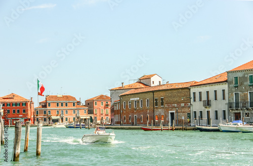 Foto op Canvas Wild West VENICE, ITALY - AUGUST 14,2011 : Murano glass making island, Ven