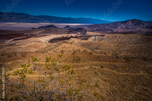 Death Valley Landscape from Father Clowley Point Poster