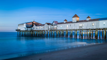 The Blue Hour At Old Orchard B...