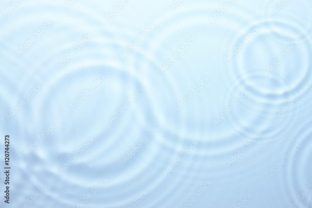Fototapeta 水の波紋