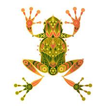 Decorative Illustration Frog