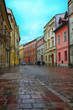 Krakow - Poland's historic center, a city with ancient architect