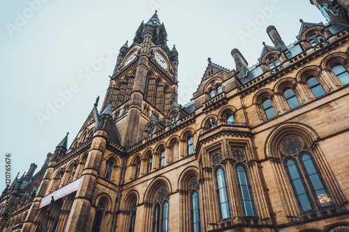 townhall of manchester