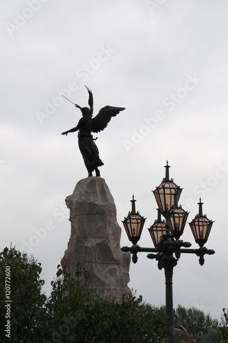 Photo  Tallinn, Russalka Denkmal zur Erinnerung an den Untergang des russischen Marines