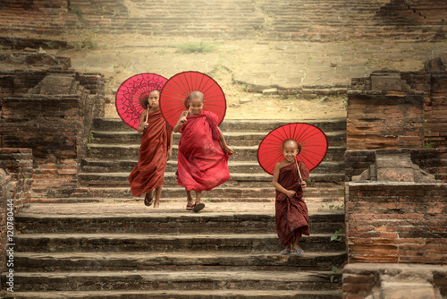 Canvas Print Faith of burma