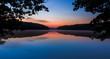 Morgengrauen über dem Liebnitzsee