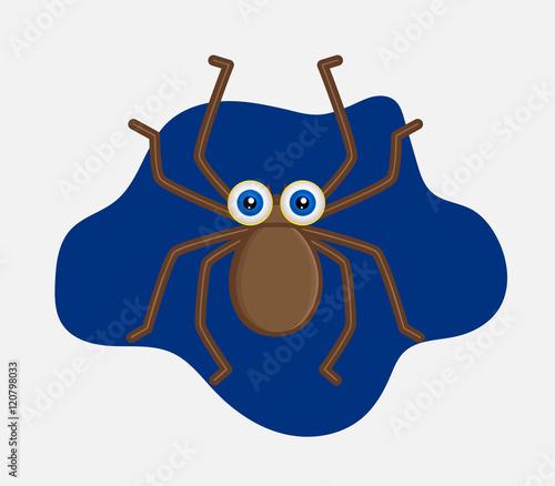 Fotografie, Obraz  Funny Halloween Spider