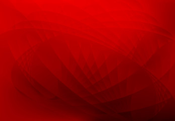 abstract wave background red