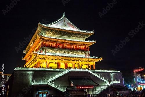 Foto op Plexiglas Xian Xian drum tower