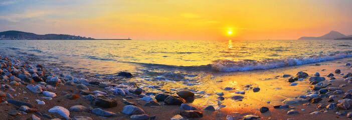 Panel Szklany Morze Coast