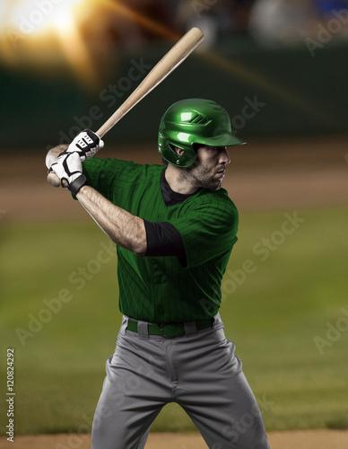Poster Golf Baseball Player